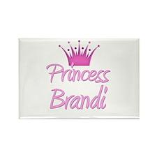 Princess Brandi Rectangle Magnet