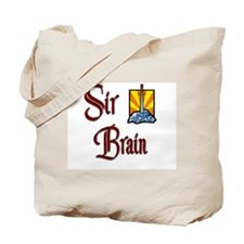 Sir Brain Tote Bag