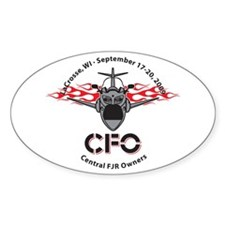 CFO 2009 Oval Decal