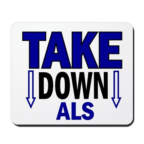 Take Down ALS 1 Mousepad