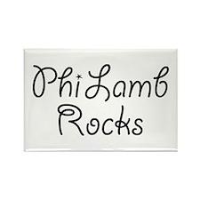 Phi Lambda Phi Sorority Rectangle Magnet