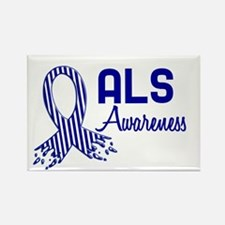 ALS Awareness Rectangle Magnet