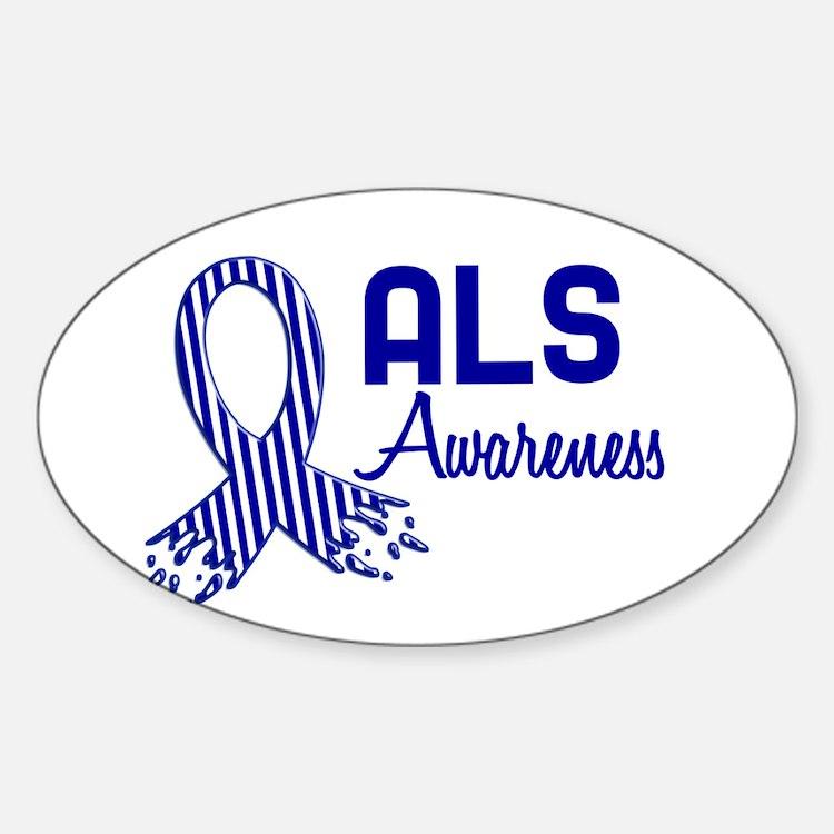 ALS Awareness Oval Decal