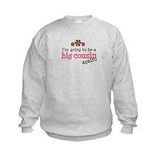 big cousin to be again Sweatshirt