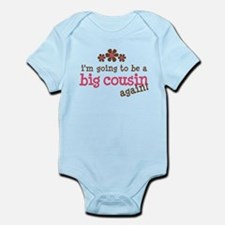 big cousin to be again Infant Bodysuit