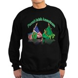 St patricks day irish american Sweatshirt (dark)