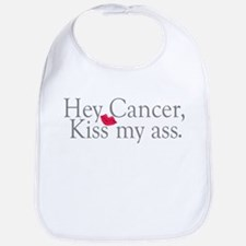 Cancer Kiss My Ass Bib