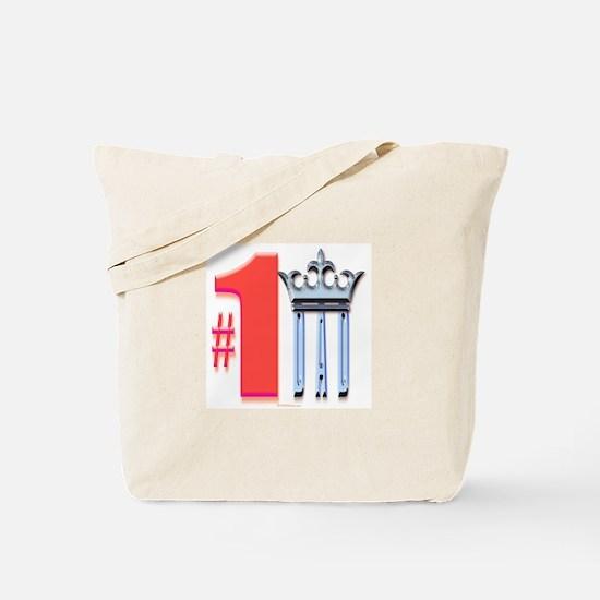 5 Star Mugs #1 Dad with crown Tote Bag