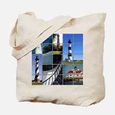 Outer Banks Lighthouses Tote Bag