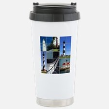 Outer Banks Lighthouses Stainless Steel Travel Mug