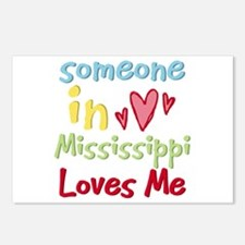 Someone in Mississippi Loves Me Postcards (Package