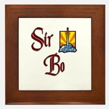 Sir Bo Framed Tile