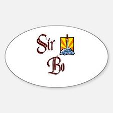 Sir Bo Oval Decal