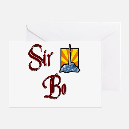 Sir Bo Greeting Card