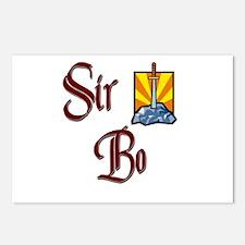 Sir Bo Postcards (Package of 8)