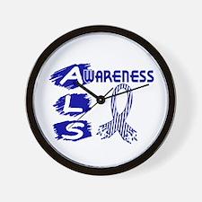 ALS Awareness Wall Clock