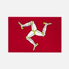 Isle of Man Rectangle Magnet