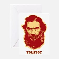 Tolstoy Greeting Card