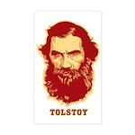 Tolstoy Rectangle Sticker