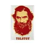 Tolstoy Rectangle Magnet (10 pack)