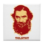 Tolstoy Tile Coaster