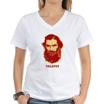 Tolstoy Women's V-Neck T-Shirt