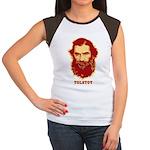 Tolstoy Women's Cap Sleeve T-Shirt