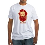 Tolstoy Fitted T-Shirt