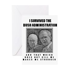 Unique Dick cheney Greeting Card