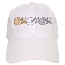 3 ASL Kitties Baseball Cap