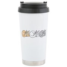 3 ASL Kitties Travel Mug