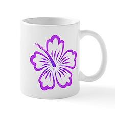Purple Hibiscus Mug