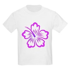 Purple Hibiscus T-Shirt