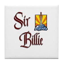 Sir Billie Tile Coaster