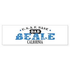 Beal Air Force Base Bumper Bumper Sticker