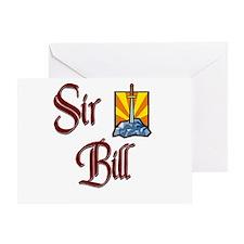 Sir Bill Greeting Card