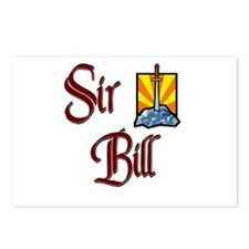 Sir Bill Postcards (Package of 8)