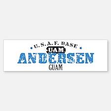 Andersen Air Force Base Bumper Bumper Sticker