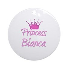 Princess Bianca Ornament (Round)