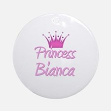 Princess Bianca Ornament (Round)