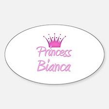 Princess Bianca Oval Decal