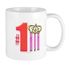5 Star Mugs #1 Mom with Crown Mug