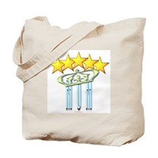 5 Star Mugs Mom Stars and Crown Tote Bag