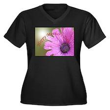 Funny May holidays Women's Plus Size V-Neck Dark T-Shirt