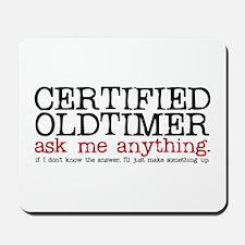 Certified Oldtimer Mousepad
