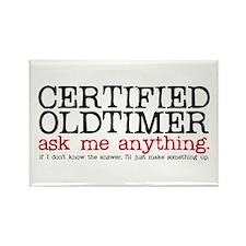 Certified Oldtimer Rectangle Magnet