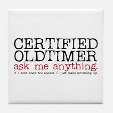 Certified Oldtimer Tile Coaster