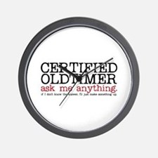 Certified Oldtimer Wall Clock