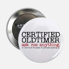 "Certified Oldtimer 2.25"" Button (10 pack)"