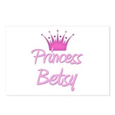 Princess Betsy Postcards (Package of 8)